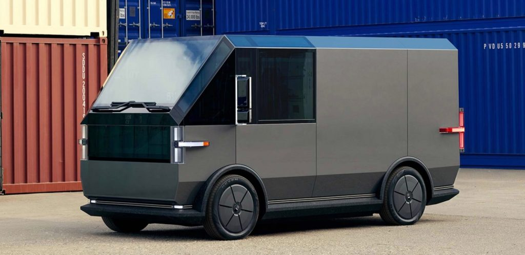 Egy teljesen elektromos furgon a napfényes Kaliforniából. Ilyen a házhozszállítás jövője?