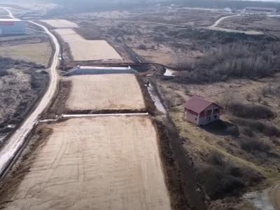 Infrastructură I Filmare aeriană cu lotul 1 al autostrăzii Pitești-Sibiu