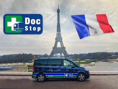 DocStop's medical hotline and health service for drivers is now available in France