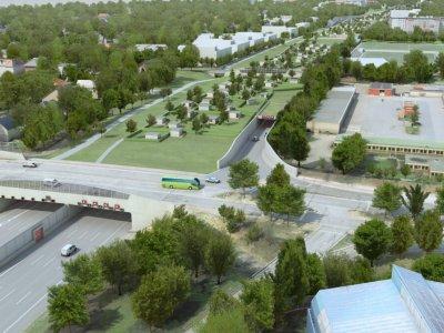 Hamburg: A7 ab Donnerstagabend voll gesperrt. Bau des Lärmschutztunnels Altona geht an den Start