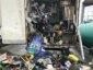 Miał przewozić odpady do recyklingu. Policjanci byli zdumieni, gdy otworzyli drzwi od naczepy