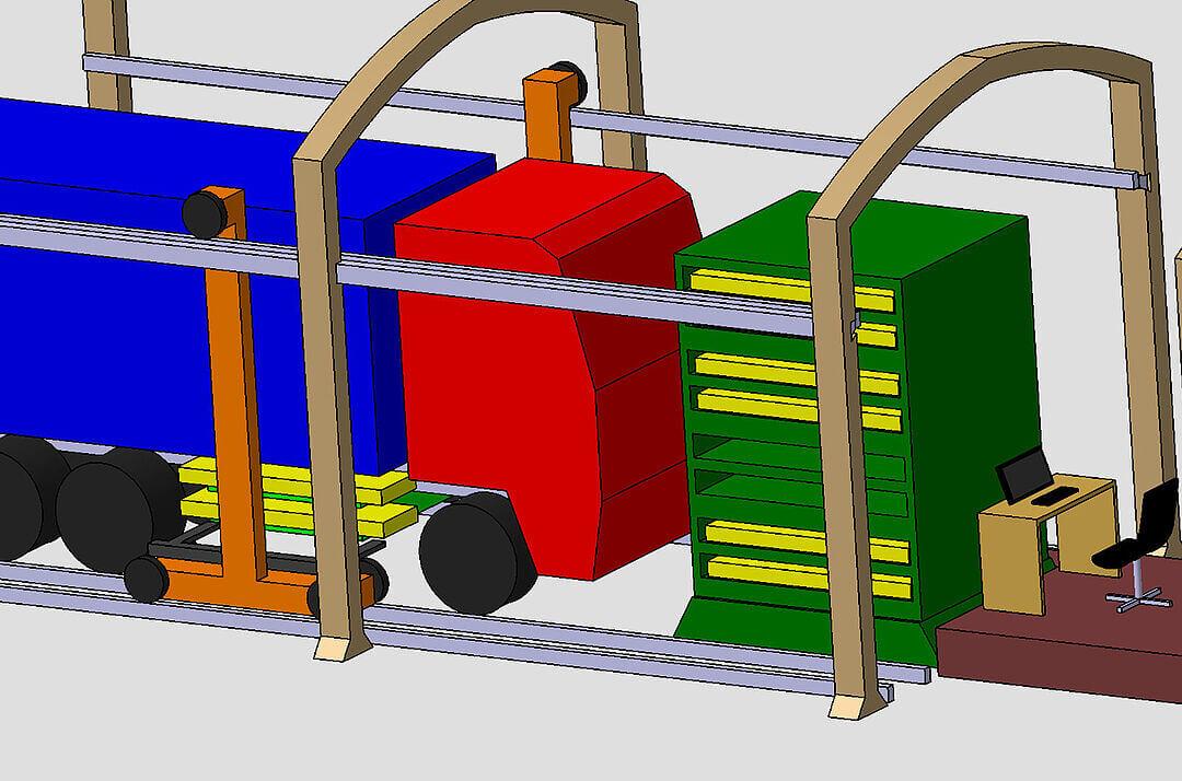 eHaul-Projekt: Automatisiertes Batteriewechselsystem für schwere eLKW