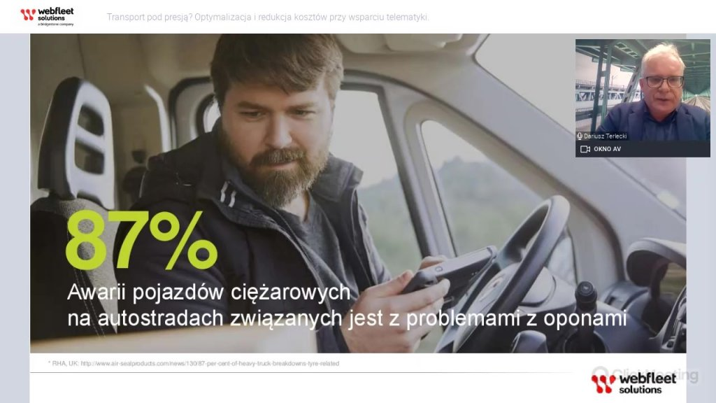 Transport pod presją? Obejrzyj nagranie z WEBINARU dla przewoźników