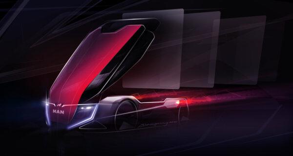 Szef Grupy VW odsłania skrawek futurystycznej wizji MAN-a