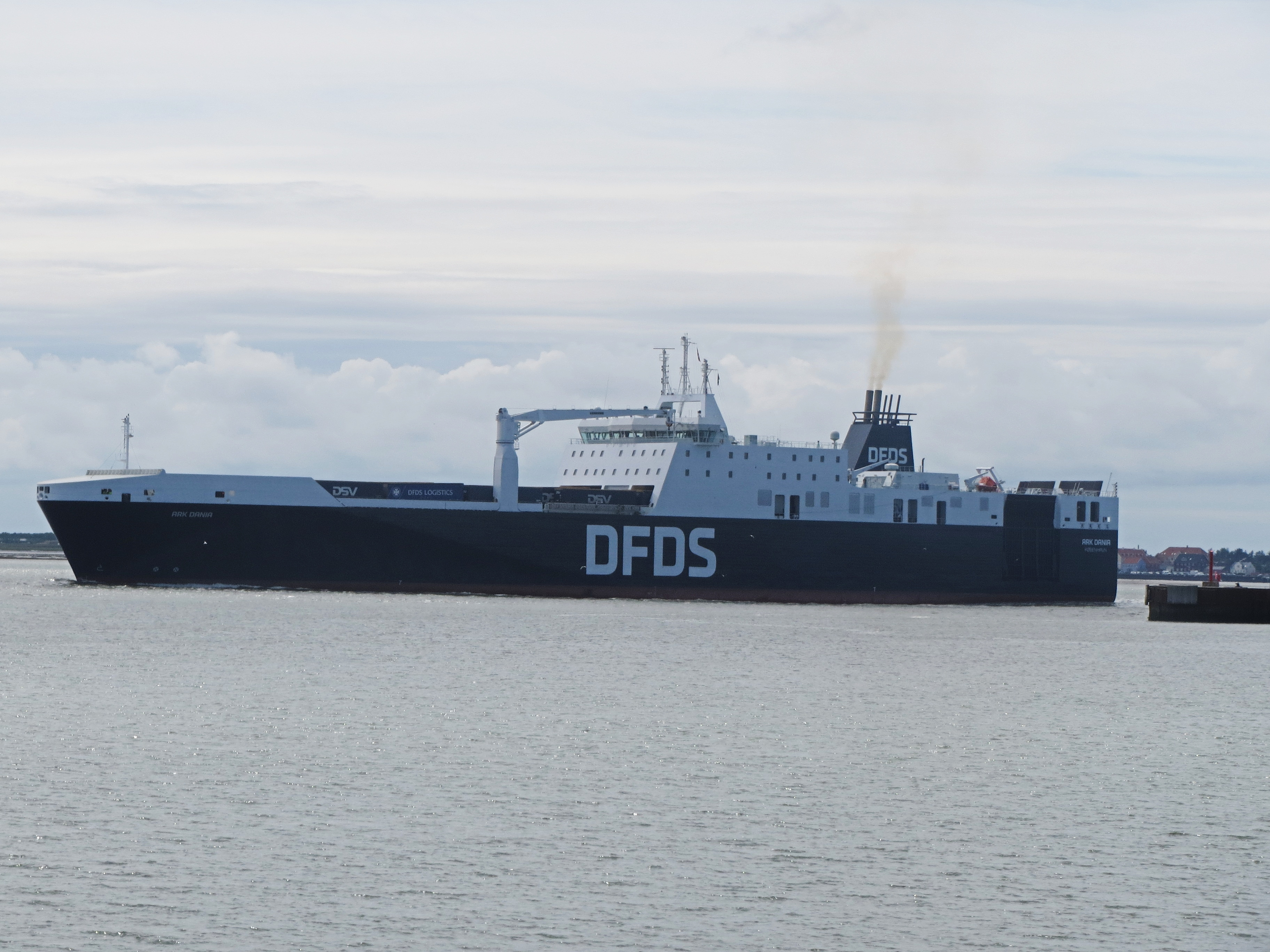 DFDS introduces a 4th freight ferry on its Rosslare – Dunkirk service