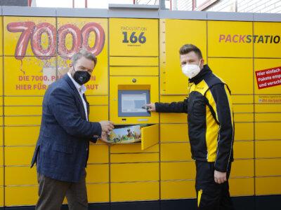 Deutsche Post DHL nimmt bundesweit 7.000. Packstation in Betrieb