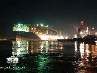 Kanał Sueski odblokowany. Zobacz zdjęcia