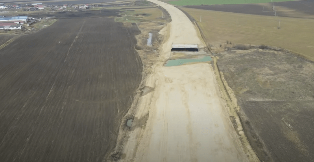 (Video) Stadiul șantierului de pe Autostrada A3. Fără comentarii