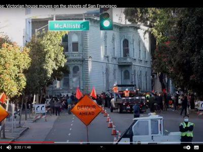 Így költözött egy egész ház San Fransiscoban egy vasárnap reggel (videó)