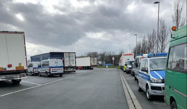 BAG checks in North Rhine-Westphalia: over 1 in 3 trucks found with violations