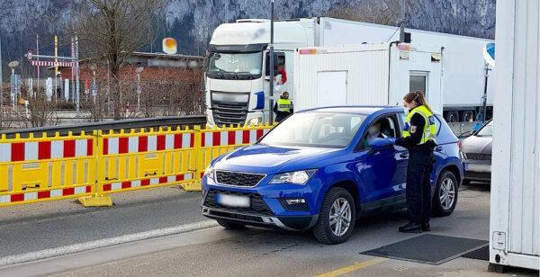Znowu zmiany na niemieckich granicach z Czechami i Tyrolem