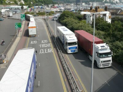 Kent County Council want lorry park outside Kent to move disruption elsewhere
