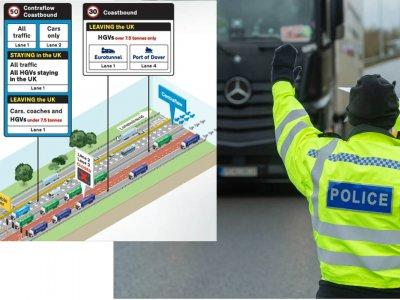 Водителей грузовиков в графстве Кент ждут большие изменения. «Первый шаг к нормальности»