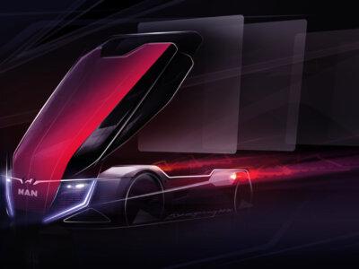 VW grupės vadovas atskleidė gabaliuką MAN futuristinės vizijos