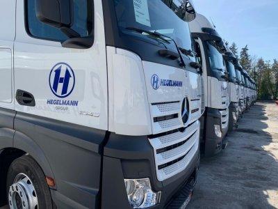 Hegelmann will im FTL-Markt Kosten- und Preisführer sein und investiert kräftig in den Fuhrpark