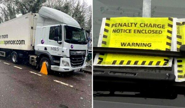 Zakaz parkowania ciężarówek w hrabstwie Kent na stałe? Trwa batalia lokalnych radnych i branży trans