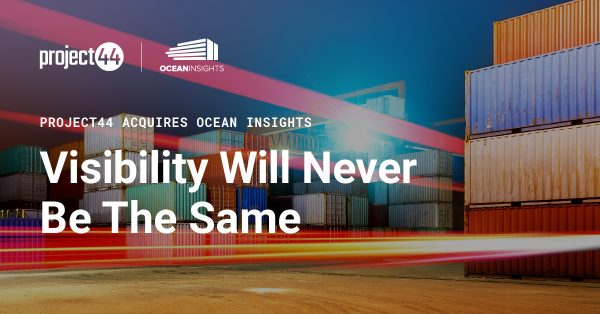 project44 übernimmt Ocean Insights