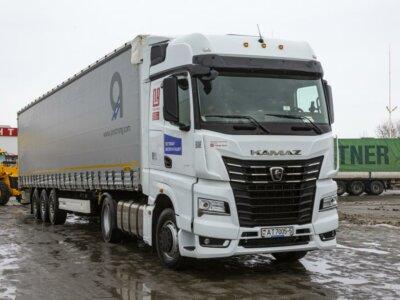 8 тыс. километров по дорогам ЕС, Беларуси и России. Международный тест-драйв КАМАЗ-54901