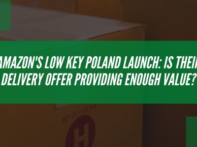 Amazon's low key Poland launch: is their delivery offer providing enough value?
