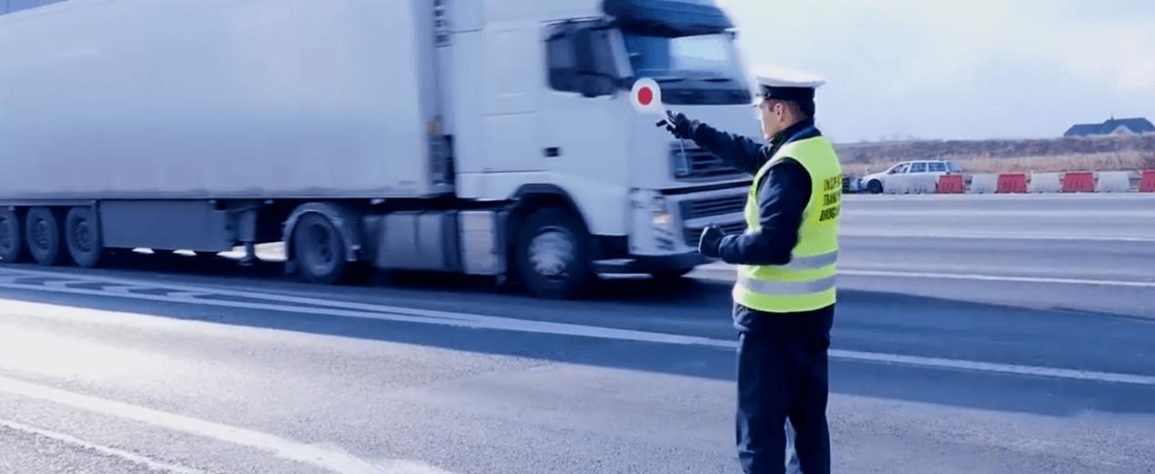 Nowoczesna technologia wskaże podejrzane ciężarówki. Inspekcje drogowe będą skuteczniejsze?