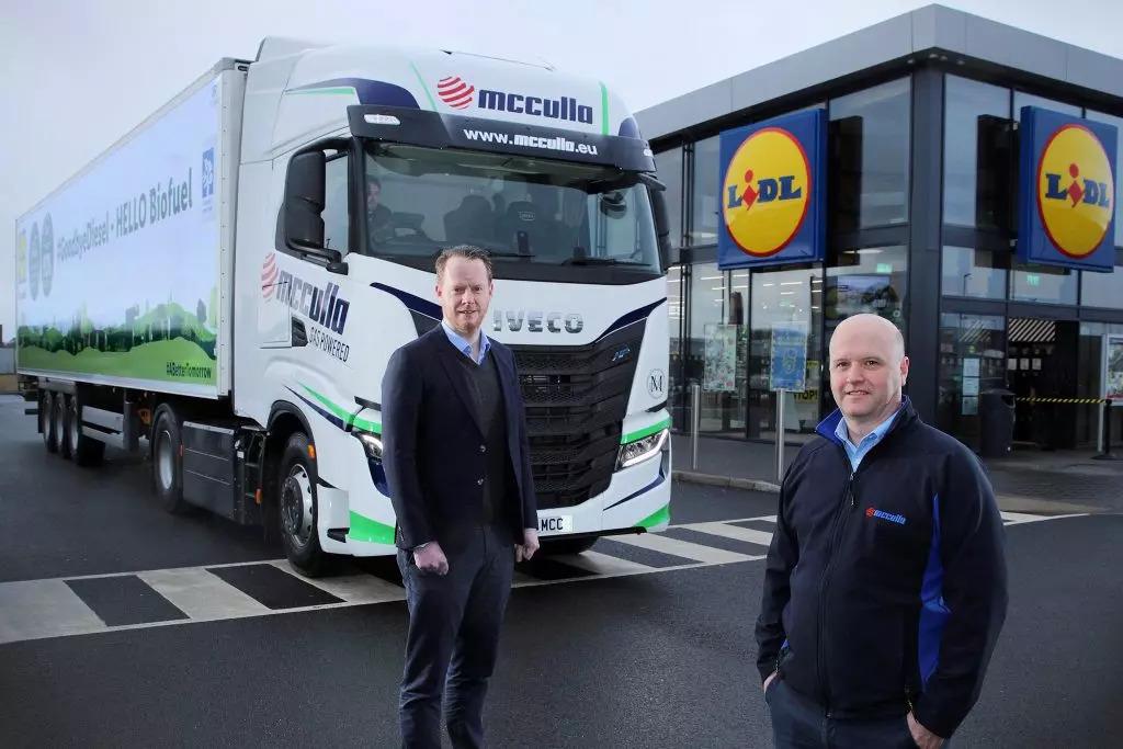 Lidl lorries to run on bio-methane from in-store food waste