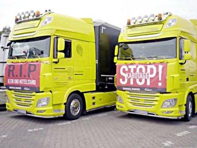 Niemieccy przewoźnicy szykują kolejny protest przeciwko nieuczciwej konkurencji. Będzie demonstracja pod siedzibą Senndera?