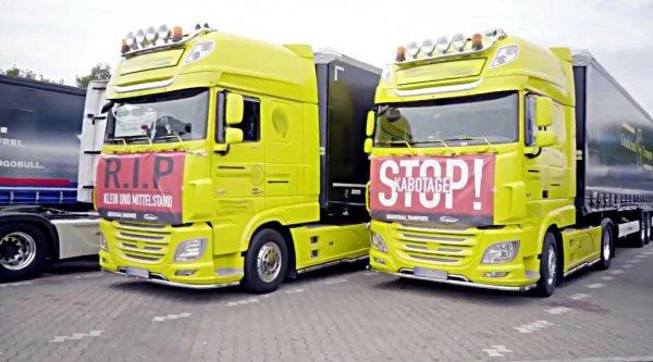 Niemieccy przewoźnicy szykują kolejny protest przeciwko nieuczciwej konkurencji. Będzie demonstracja