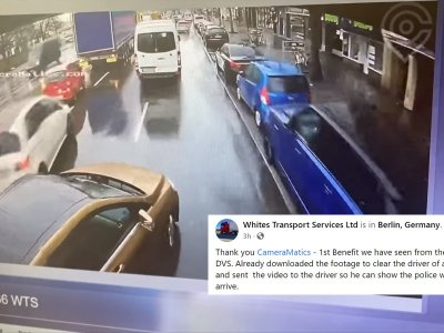 British haulier sees DVS benefit as footage used to absolve driver from blame