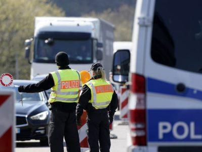 Germania instituie noi restricții de trafic la granița cu Franța