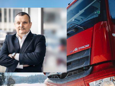 Na rynku ciężarówek widać ożywienie. Prezes Mercedes-Benz Trucks Polska liczy na solidny rok [WYWIAD]