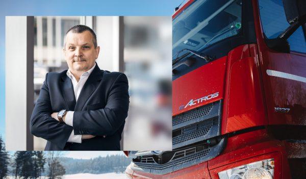 Na rynku ciężarówek widać ożywienie. Prezes Mercedes-Benz Trucks Polska liczy na solidny rok [WYWIAD