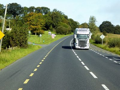 Almost half of HGVs checked in Ireland found to have roadworthiness defect