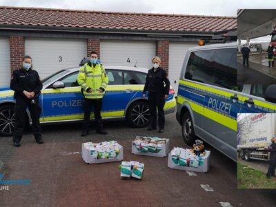 Vokietijos policijos padėka sunkvežimių vairuotojams. Jaudinantys žodžiai