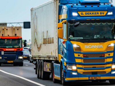 Drivers of lorries and vans go on strike in the Netherlands