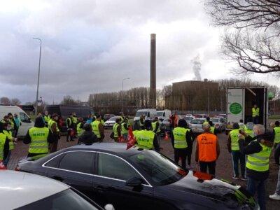 Kolejne protesty w Niderlandach. W jaki sposób związkowcy walczą o wyższe pensje dla kierowców?