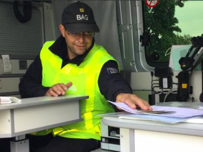 BAG будет чаще проверять грузовики. Ведомство примет на работу новых сотрудников