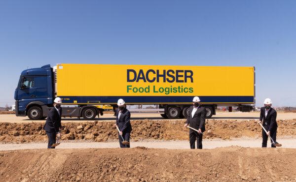 Dachser baut neues Warehouse in Memmingen