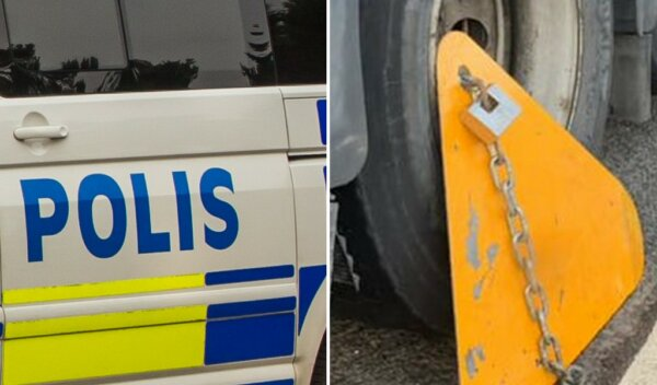 Svédország bekeményít: kerékbilincset a külföldi teherautóra, amíg a bírságot ki nem fizetik