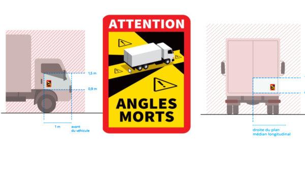 """Mandat za brak naklejki """"Angles Morts"""" we Francji. Od dziś koniec taryfy ulgowej"""