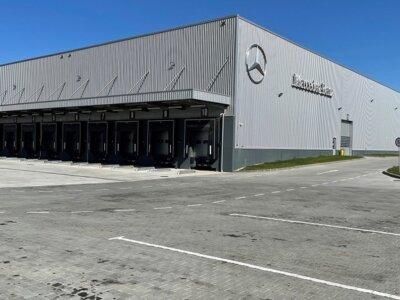 Mercedes-Benz deschide un nou centru logistic lângă București