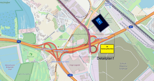 Ruchliwa autostrada w Niemczech będzie całkowicie zamknięta w weekend