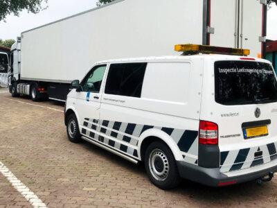 Olandai transporto įmonių baudas pradėjo registruoti elektroninėje sistemoje