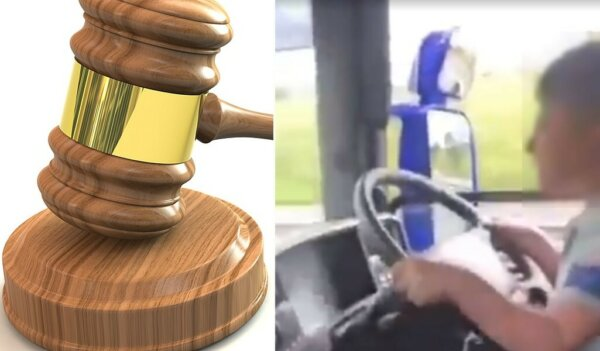 Trucker in court after video showed him allowing child to drive HGV on motorway