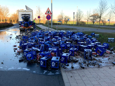 Jednym manewrem nawarzył sobie piwa za 6 tys. euro