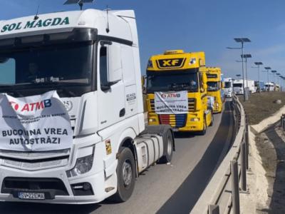 Protest pe drumurile din Moldova pentru urgentarea construirii de autostrăzi