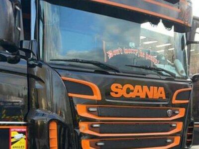 147 km/órás sebességgel száguldozott egy Scania a francia autópályán. Megbüntették