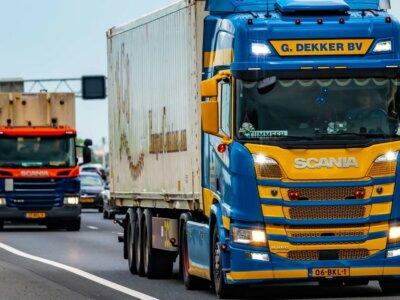 O nouă grevă a șoferilor profesioniști în Țările de Jos