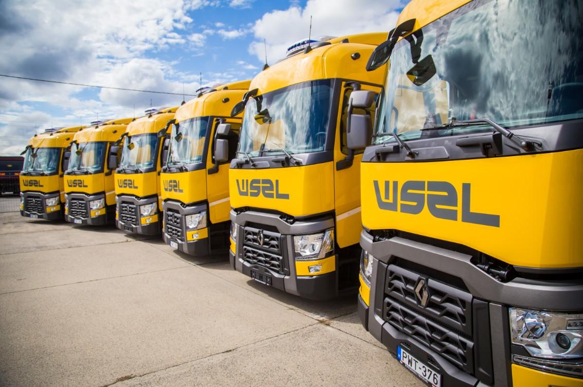 """""""Waberer's"""" išleis daugiau nei 33 mln. Eur naujiems sunkvežimiams. Tai didžiausias užsakymas Vengrijos transporto istorijoje"""