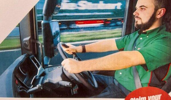 Eddie Stobart ridiculed over referral scheme advert fail