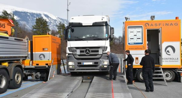 Every 4th lorry will be checked in Tyrol
